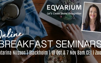 Great names drive sales – Welcome to Eqvarium's breakfast seminars!