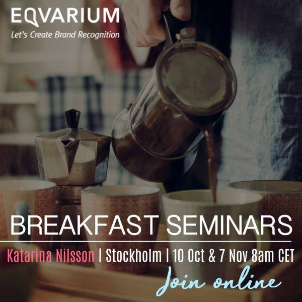 Breakfast Seminars oct & nov